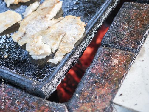 kubanische Küche grillen red snapper