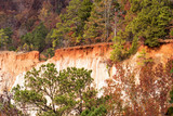Providence Canyon in Lumpkin Georgia USA