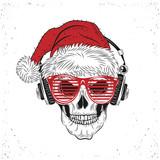 Chrismas Skull