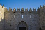Damascus gate of old city Jerusalem