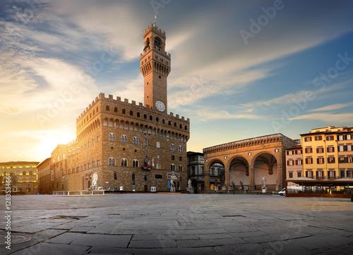 Plakat Square of Signoria