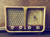 antigua radio vintage