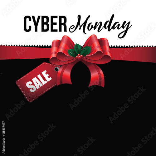 Cyber Monday background design. EPS 10 vector.