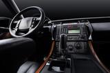 Luxury car leather interior, black studio background