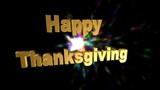Happy thanksgiving,animation