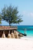 Spiaggia su Prison Osland, arcipelago do Zanzibar - Tanzania