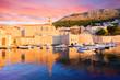 Old Port Dubrovnik. Croatia.