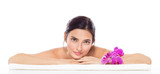 Beauty spa woman
