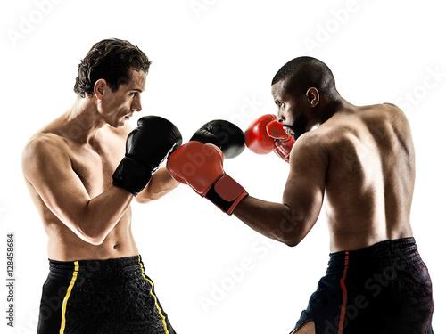 boxer boxing kickboxing muay thai kickboxer men Poster