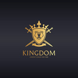 Kingdom. Bear coat of arms logo