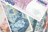 Old Polish banknotes