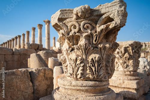 The Cardo Maximus, Jerash, Jordan