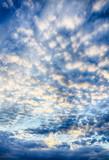 Beautiful dark sky after storm. High Dynamic Range photo