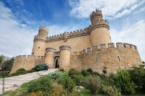Manzanares el Real castle Poster