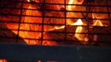 Wood fire oven in a restaurant