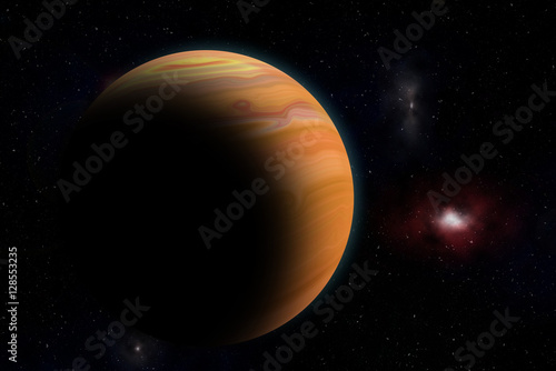 Poster The Jupiter from space