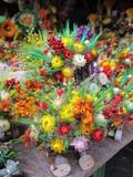 ikebana of dried flowers