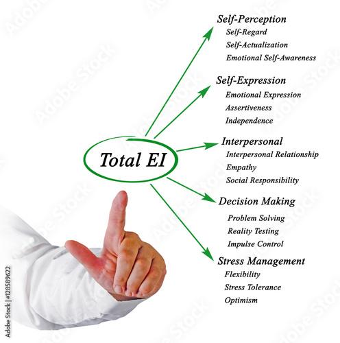 Poster Total emotional intelligence