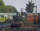 severn valley railway station bridgnorth shropshire uk