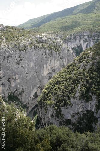 Poster Landschaft imGrand Canyon in Südfrankreich