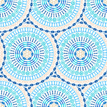 Etnische decoratieve versiering naadloze patroon