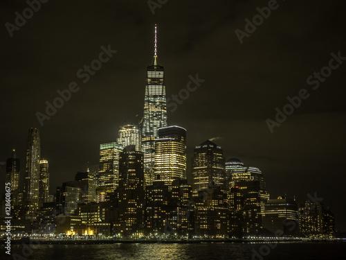 Poster Lower Manhattan in New York City