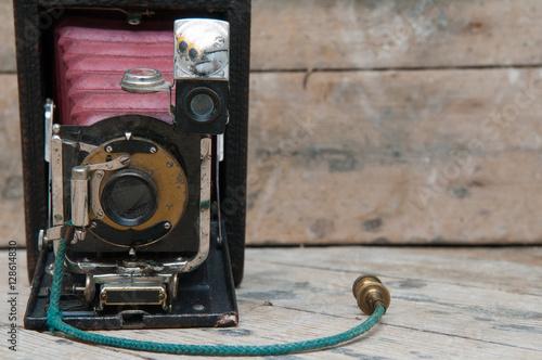Zdjęcia Retro vintage style camera