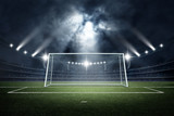 Stadiım and Goal post ,3d rendering - 128627216