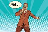 sale businessman promoter