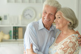 portrait of happy beautiful senior couple
