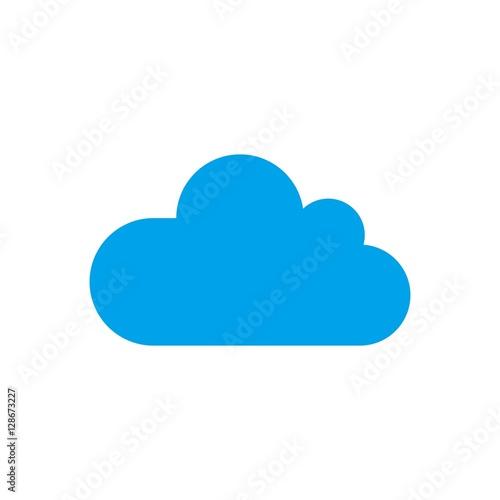 Fototapeta cloud logo vector