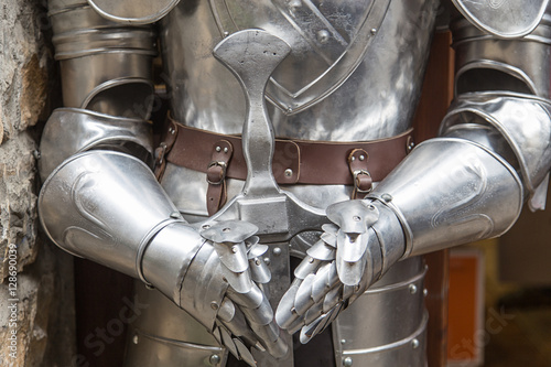 medieval armor Poster