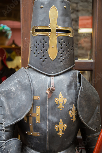 Poster medieval armor