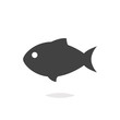 Fish icon isolated - 128694651