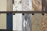 granite floor tile samples for sale in store