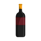isolated wine cup icon vector illustration graphic design