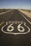 Route 66 Road Graphic California Historic Travel Route