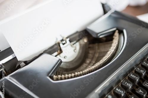 Zdjęcia Extreme close up view typewriter