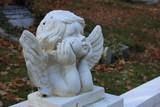 Guardian angel grave ornament