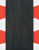 Texture of motor race asphalt and curb Grand Prix circuit