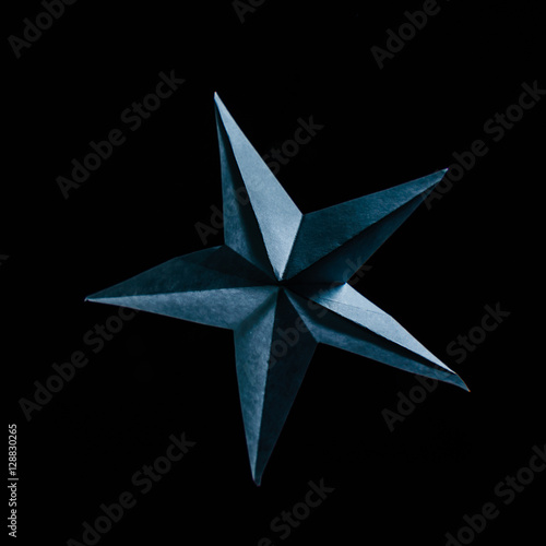 Poster paper star