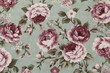 Colorful Cotton fabric in vintage rose pattern for background or - 128832815