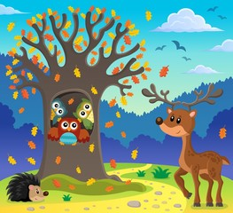 Owl tree theme image 5