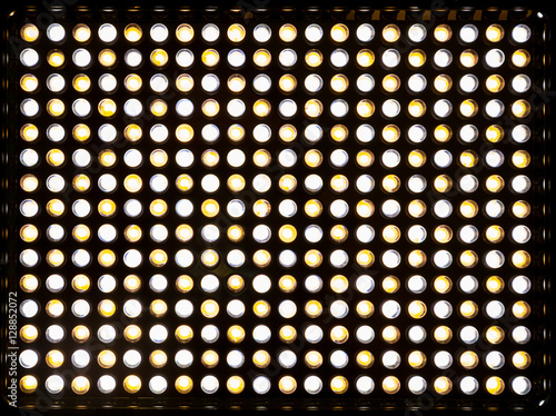 Poster The matrix 300 yellow and white LEDs