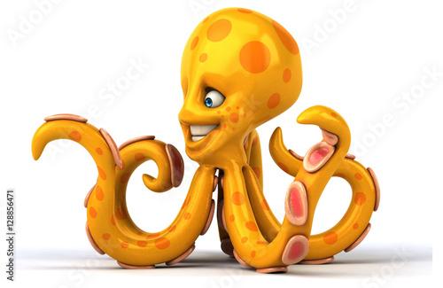 Poster Fun octopus
