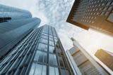 Modern business skyscrapers - 128880403