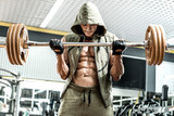 bodybuilder man in gym
