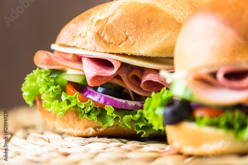 Sub sandwich Poster