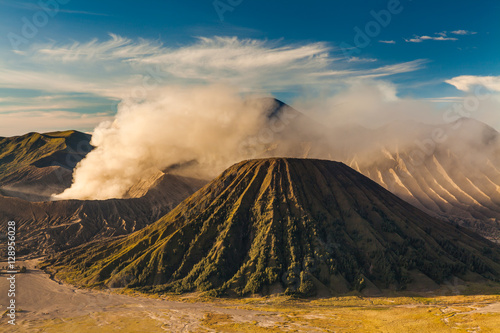 Sunrise at Mount Bromo volcano, the magnificent view © Anton Petrus