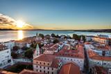 Panorama der Altstadt von Zadar, Kroatien - 128994248